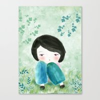 Nature, My Soul Canvas Print