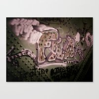 Staining The Path Canvas Print