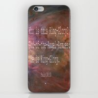 Psalm 24:10 iPhone & iPod Skin