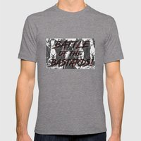 Battle of the Bastards Mens Fitted Tee Tri-Grey SMALL