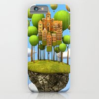 iPhone & iPod Case featuring New City in the Sky by Teodoru Badiu