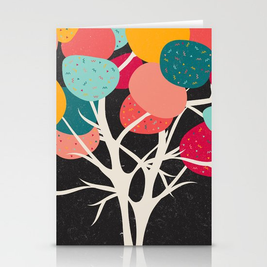 Lovely Tree Stationery Card