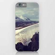 snow curves iPhone 6 Slim Case