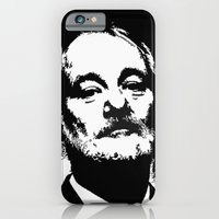 iPhone & iPod Case featuring Bill F@#king Murray by Christine DeLong Creative Studio