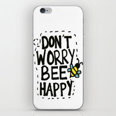 BEE Happy iPhone & iPod Skin