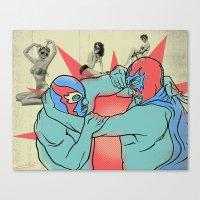 Mondo Lucha! Canvas Print