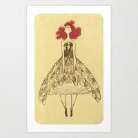 Vanitas McQueen Art Print