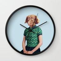 Miss Moony Wall Clock