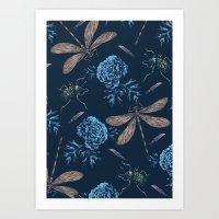 Floral Pattern #1 Art Print