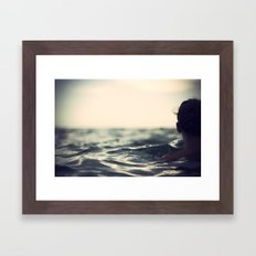 Out into... Framed Art Print