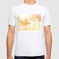Memories Of Autumn Mens Fitted Tee Ash Grey SMALL