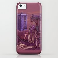 iPhone 5c Cases featuring You Comin' Blondie?  by Karen Hallion Illustrations