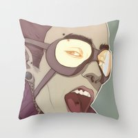Sunlighthurtsmyeyes Throw Pillow