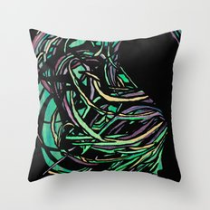Whirlwave Throw Pillow