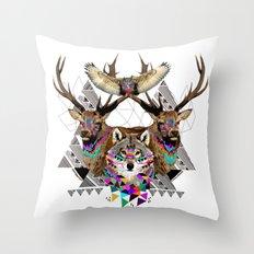 ▲FOREST FRIENDS▲ Throw Pillow