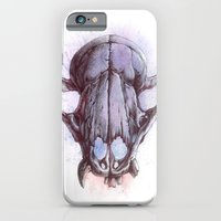 iPhone & iPod Case featuring Skull 1 by Colin Maisonpierre
