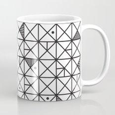 Monochrome Geometric 02 Mug