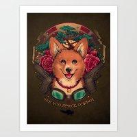 See You Space Cowboy Art Print