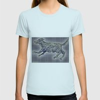 20110825 _2 _DOG _GIMP Womens Fitted Tee Light Blue SMALL
