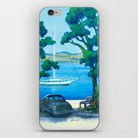 Of Boats And Summer iPhone & iPod Skin