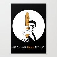 Go ahead, bake my day II Canvas Print