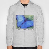 Blue Butterfly: Transfig… Hoody