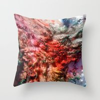 Dyed in the Wool Throw Pillow