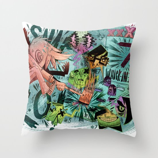 Scott Pilgrim, Fan Art Throw Pillow