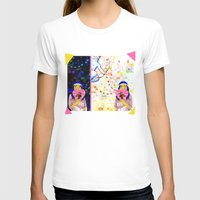 Cupid Waiting List Womens Fitted Tee White SMALL