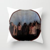 ZOMBIES V Throw Pillow