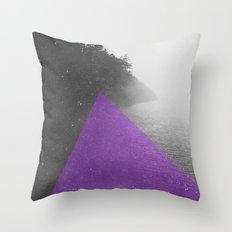 NEON NATURE | Purple Throw Pillow