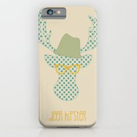 Deer Hipster iPhone 6 Slim Case