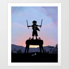 Robin Kid Art Print