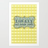 Lovely At Your Side Art Print