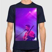 Lianne La Havas: Is your love big enough? Pink Mens Fitted Tee Navy SMALL