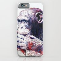 iPhone & iPod Case featuring Monkey by Cristian Blanxer