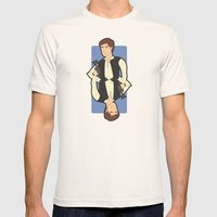 Han Solo Mens Fitted Tee Natural SMALL