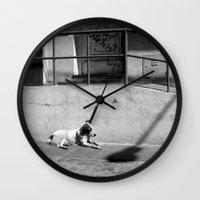 Stray Dog Wall Clock
