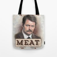 If It Doesn't Have Meat, It's A Snack Tote Bag