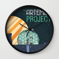 The Artemis Project Wall Clock