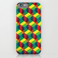 iPhone & iPod Case featuring Construct (colour) by Hand On Fire