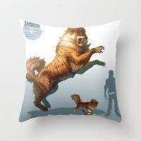 Pokemon-Arcanine Throw Pillow