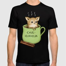 Chaihuahua SMALL Mens Fitted Tee Black