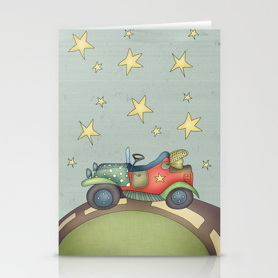 Boy Stationery Card