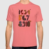 1 2 3 4 5 6 7 8 9 10 Dec… Mens Fitted Tee Pomegranate SMALL