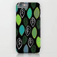 Modern Abstract Leaf Pattern iPhone 6 Slim Case