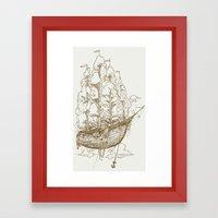 Voyage Home Framed Art Print