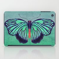 Butterfly In Spring Gree… iPad Case