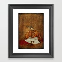 Leonora Or The Not Cryin… Framed Art Print