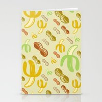 Banana & Peanut Butter Stationery Cards